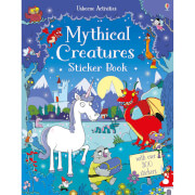 Mythical Creatures Sticker Book (Paperback)