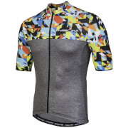 Nalini Centenario Short Sleeve Jersey - Grey/Multi