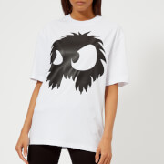 McQ Alexander McQueen Women's Boyfriend Chester Monster T-Shirt - Optic White