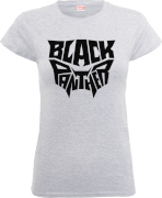 Black Panther Emblem Frauen T-Shirt - Grau