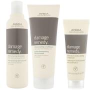 Aveda Duo shampooing et après-shampooing restructurants Damage Remedy avec échantillon de traitement restructurant