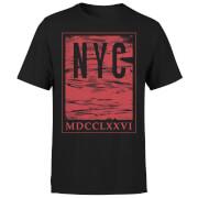 NYC Roman T-Shirt - Black
