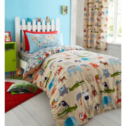 Catherine Lansfield Animal Kingdom Duvet Set - Multi
