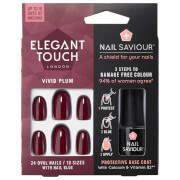 Elegant Touch Nail Saviour - Vivid Plum