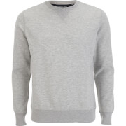 Brave Soul Men's Jones Sweatshirt - Light Grey Marl