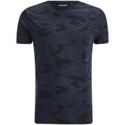 Brave Soul Men's Disguise Camo T-Shirt - Navy