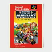 Nintendo Super Famicom Mario Kart Print