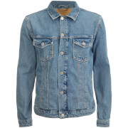 Jack & Jones Originals Men's Alvin Denim Jacket - Mid Wash