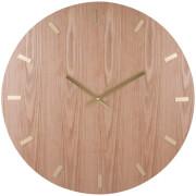 Karlsson Wood XL Wall Clock - Light Wood