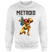 Metroid Samus Returns Pullover - Weiß