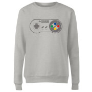 SNES Controller Pad Women's Sweatshirt - Grey