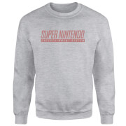 SNES Men's Light Grey Sweatshirt - Grey