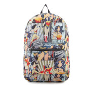 Sac à Dos Affiche Rétro Wonder Woman DC Comics - Multi