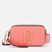 Marc Jacobs Women's Snapshot Cross Body Bag - Coral Multi