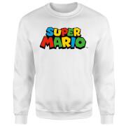 Sudadera Nintendo Super Mario Logo - Hombre - Blanco
