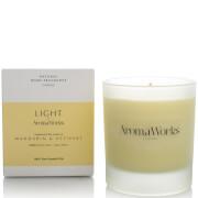 AromaWorks Light Range Candle - Mandarin and Vetivert 30cl