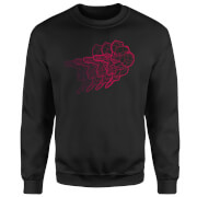 Nintendo Super Metroid Retro Samus Sweatshirt - Black