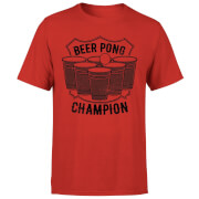 Beer Pong Champion T-Shirt - Red