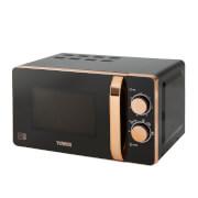 Tower T24021 Digital Microwave 20L - Black/Rose Gold