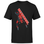 T-Shirt Homme Deadpool (Marvel) Hang Split - Noir
