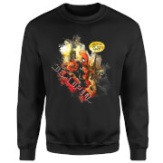 Marvel Deadpool Outta The Way Nerd Sweatshirt - Schwarz