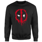 Marvel Deadpool Splat Face Trui - Zwart