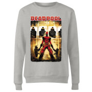 Marvel Deadpool Target Practice Women's Sweatshirt - Grey