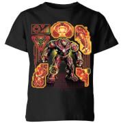 T-Shirt Enfant Avengers Infinity War ( Marvel) Hulkbuster - Noir