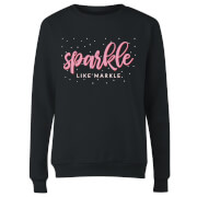 Sparkle Like Markle Women's Sweatshirt - Black