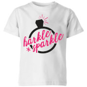 Harkle Sparkle Kids' T-Shirt - White