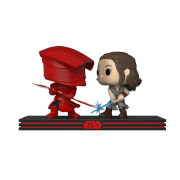 Pack 2 Figuras Pop! Movie Moments Duelo Rey y Guardia Pretoriana - Star Wars: Los últimos jedi