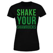 Shake Your Shamrocks Women's T-Shirt - Black