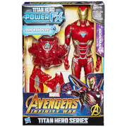 Figurine Iron Man Hasbro Marvel Avengers Infinity War Titan Heroes Power FX