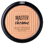 Pó Iluminador Metálico Master Chrome da Maybelinne 100 Molten Gold 8 g