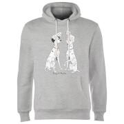 Disney 101 Dalmations Pongo & Perdita Classic Hoodie - Grey