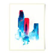 Robert Farkas The Wolf Of The City Art Print