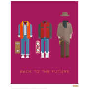Back To The Future Print
