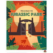 Jurassic Park 'Welcome to Jurassic Park' Limited Edition Art Print