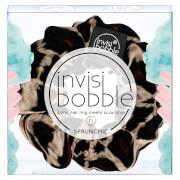 Anneau Scrunchie en spirale pour cheveux invisibobble Sprunchie - Purrfection (motif léopard)