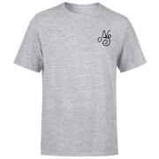 Camiseta Native Shore Essential Script - Hombre - Gris