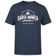 Camiseta Native Shore Santa Monica - Hombre - Azul marino