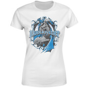 DC Comics Batman DK Knight Shield Women's T-Shirt - White