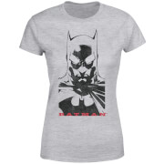 DC Comics Batman Solid Stare Dames T-shirt - Grijs