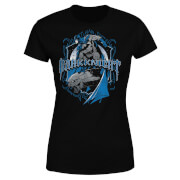 DC Comics Batman Dark Knight Shield Dames T-shirt - Zwart