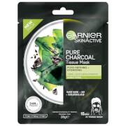 Garnier SkinActive Pure Charcoal Tissue Mask - Black Algae (1 Mask)