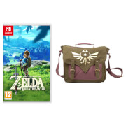 The Legend of Zelda: Breath of the Wild + Canvas Messenger Bag