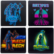 Dessous de Verre Ready Player One ( Lot de 4)