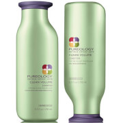 Pureology Clean Volume Colour Care Shampoo and Conditioner Duo 250ml