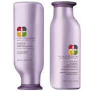 Duo de Shampooing et d'Après-Shampooing Hydrate Pureology 250 ml