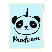 Pandicorn Art Print